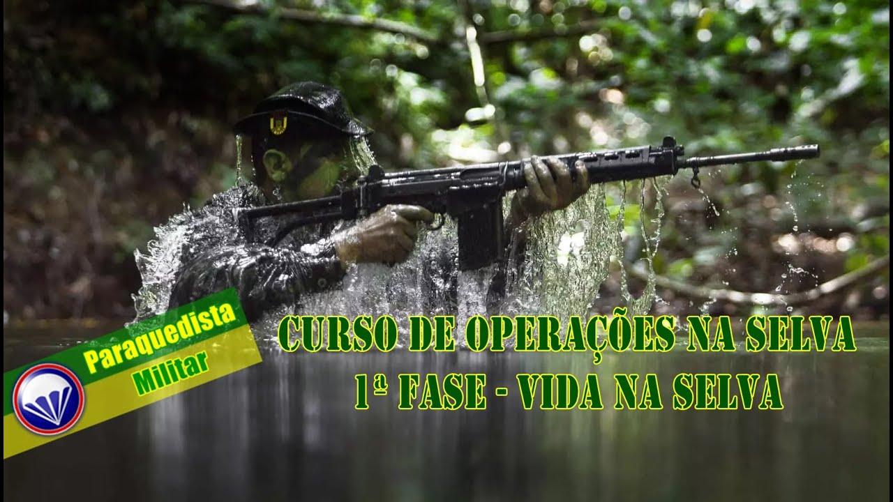 CURSO DE OPERAÇÕES NA SELVA 2020 1ª FASE - By CIGS