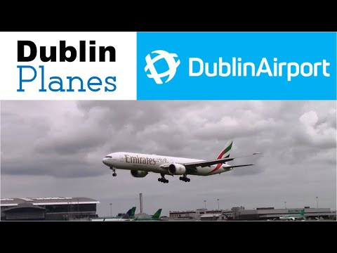 Planespotting at Dublin Airport 12 July 2016