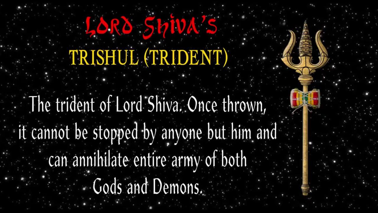 Lord shiva trishul picture - Trishul The Divine Weapon Of Lord Shiva
