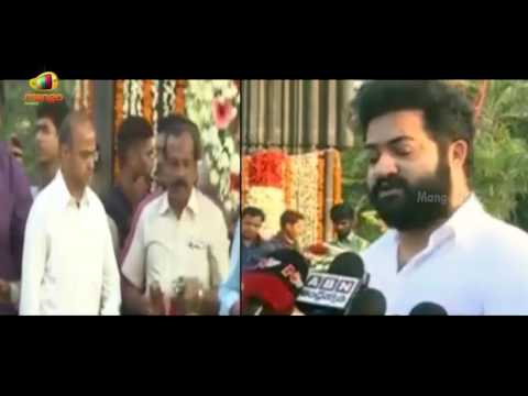 JR NTR Emotional Speech At NTR Ghat || Jr...