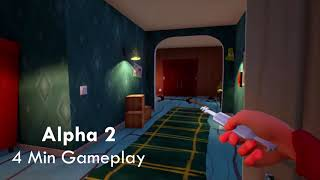 Let39;s Compare 2  Hello Neighbor Alpha 2 amp; Act 1