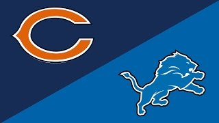 NFL Week 14 Preview: Chicago Bears/Detroit Lions