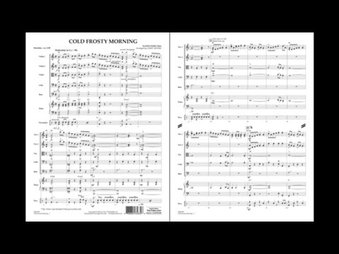 Cold Frosty Morning arranged by Larry Moore