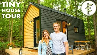Open Concept Tiny House With Clever Custom Furniture - Off Grid Home Tour
