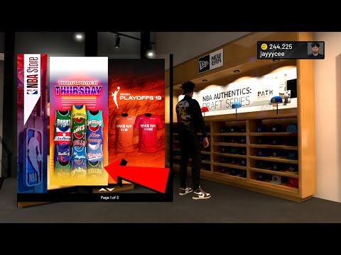 NEW NBA 2K20 THROWBACK JERSEYS ARE HERE NEW NBA STORE THROWBACK JERSEYS IN NBA 2K20 DRIPPIEST FIT!