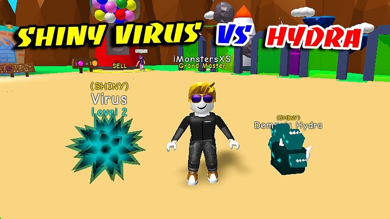 I Got The Demonic Hydra Pet Best Possible Pet Roblox - Make Shiny Virus Demonic Hydra Best Pets In Bubble Gum