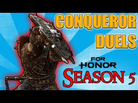 [For Honor] Conqueror Duels - Season 5 Edition! - Random mGoldie encounter