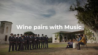 Wine pairs with Music. Wine pairs with Portugal.