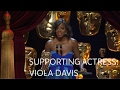 Viola Davis wins the Best Supporting Actress award for Fences - The British Academy Film Awards 2017