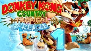 Let's Play Donkey Kong Country Tropical Freeze Part 1: Tropisches Frieren