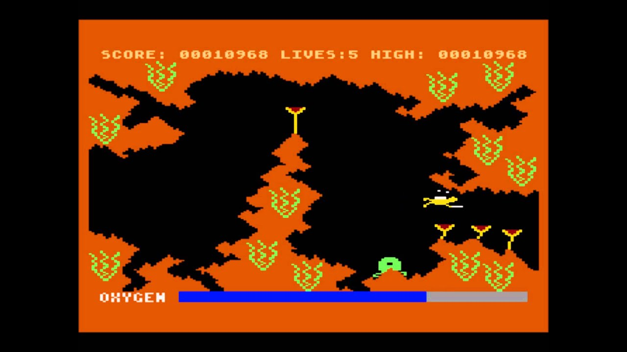 Neptune's Daughters for the Atari 8-bit family