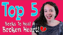 Slutty Book Club | TOP 5 BOOKS TO HEAL A BROKEN HEART!