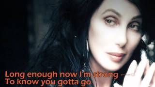 Cher-Strong Enough lyrics