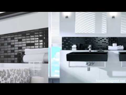 Fabulous Modern Bathroom Design In Black And White