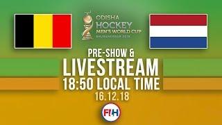 Belgium v Netherlands GOLD MEDAL MATCH | 2018 Men's Hockey World Cup | FULL MATCH LIVESTREAM thumbnail