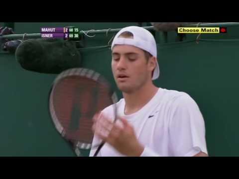 John Isner DEFEATS Nicolas Mahut - The Greatest and Longest Tennis Match EVER! The ENDING HD
