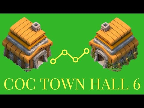 Clash of Clans - How to upgrade Town Hall Level 6
