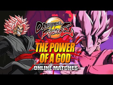 THE POWER OF A GOD: Dragon Ball FighterZ - Online Ranked Matches