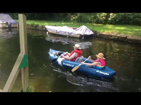 canoeing beginners!
