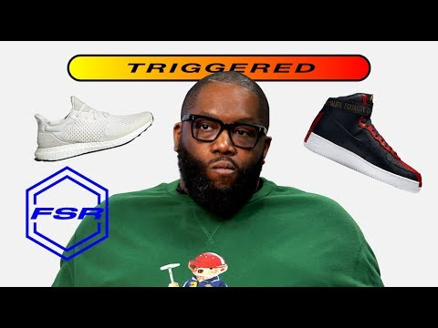 Killer Mike Gets Triggered By Sneakers | Full Size Run