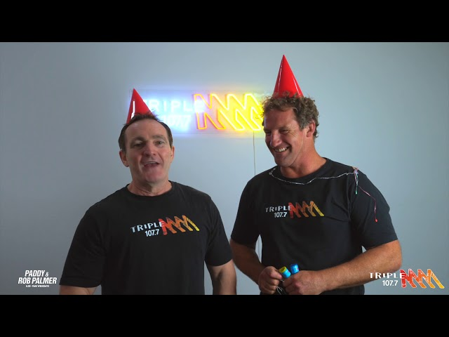 Happy New Year from Paddy & Rob Palmer | Triple M Central Coast
