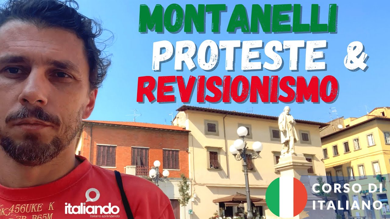 Montanelli, proteste e revisionismo. italiando.com.br Corso di italiano online italiano L2 italiando