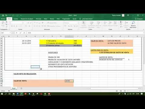 Prueba de VNR y Auditoria Financiera