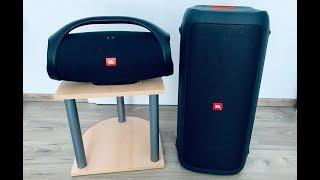 JBL Boombox vs JBL Partybox 300 Sound Comparison