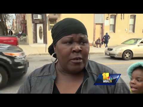 Video: North Calhoun Street in west Baltimore a microcosm of city's problems
