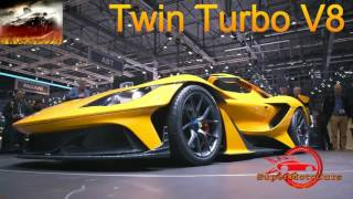 The Best 15 Concept Cars and Exotic Supercar 2018