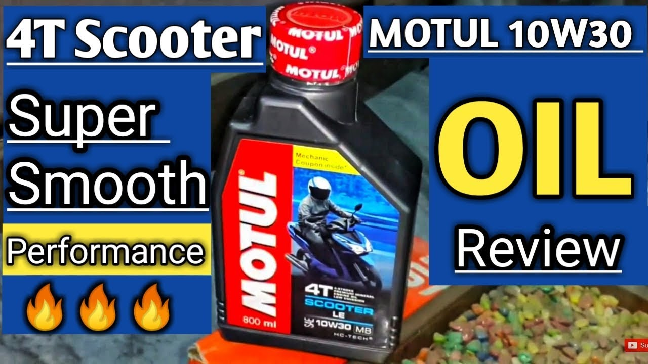 Motul 4T Scooter Engine Oil Genuine Review