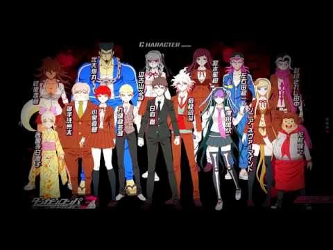 Danganronpa 3: The End of Kibougamine Gakuen - Zetsubou hen Opening FULL HD