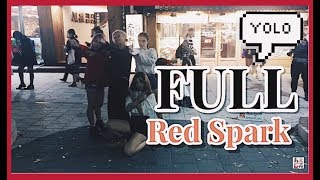 [K-POP in Public] [Full] 181016 Red Spark (레드스파크) cover dance 홍대 HD