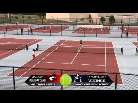 VHS Girls Tennis vs Atlantic City 2017