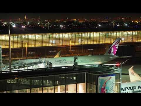 2018/03/24 Qatar Airways 812 Announcement: Doha - Tokyo Haneda