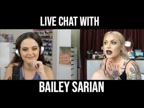 Live Chat with Mystery & Makeup Creator Bailey Sarian thumbnail