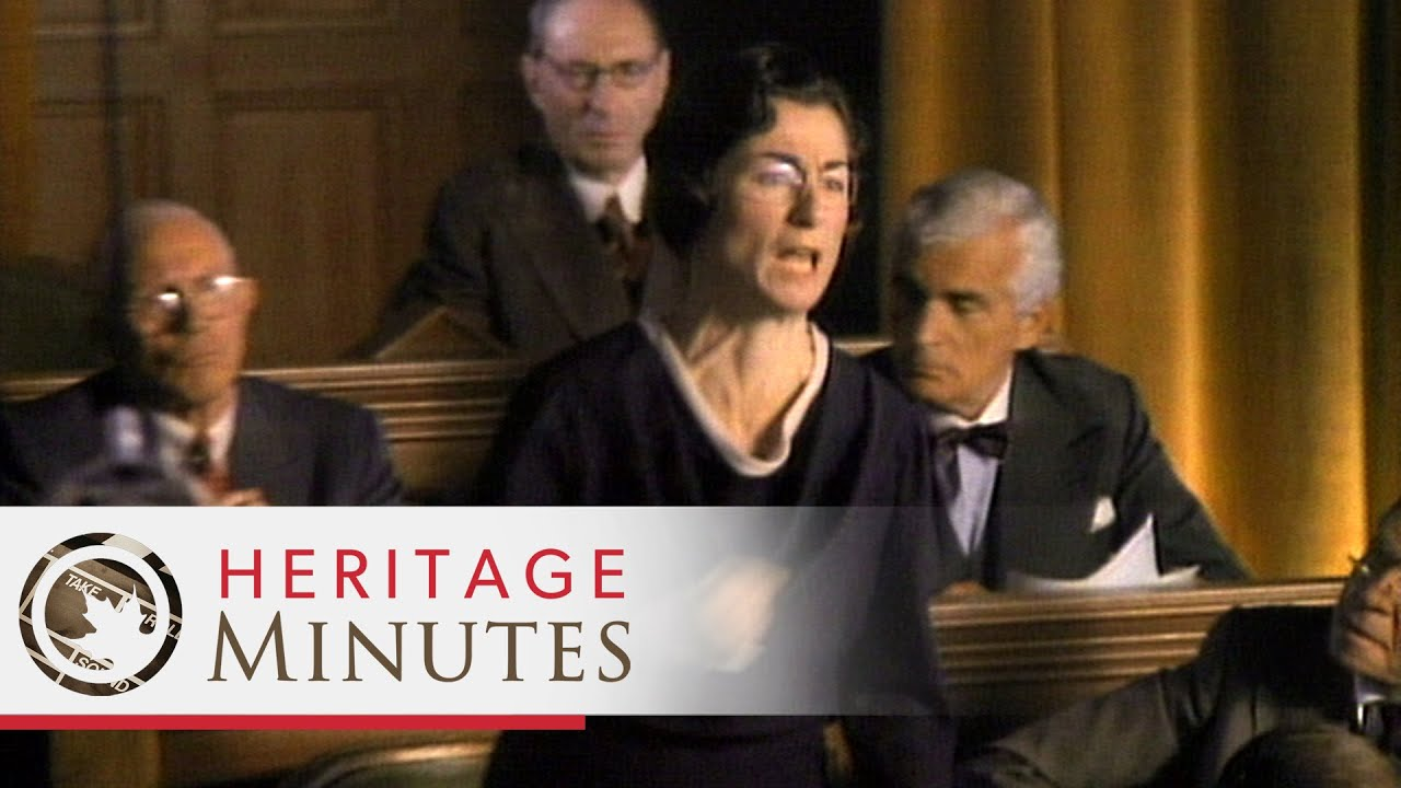 Heritage Minutes: Agnes Macphail