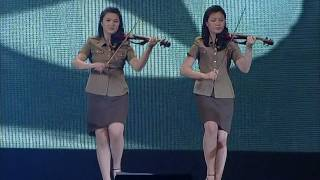 Moranbong Band - Marching and marching (진군 또 진군)