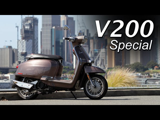 Lambretta V200 Special Scooter Review | Italian Flair