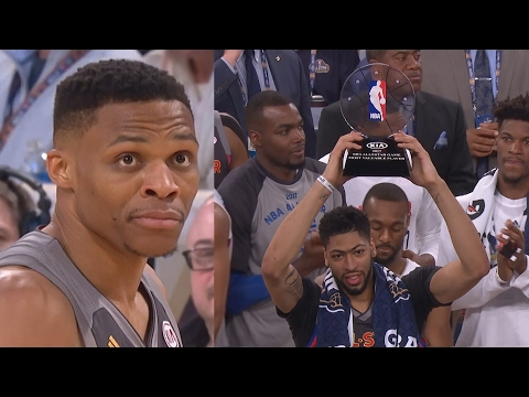NBA All-Star Game 2017! Kevin Durant Lobs Russell Westbrook! Davis Sets Record 52 Pts!