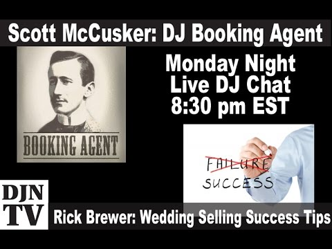 Hire A Booking Agent? with Scott Mccosker | Live DJ Chat on #DJNTV