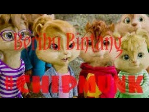 Lagu Beribu Bintang versi Chipmunk
