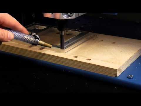 Erste Tests mit DIY Fräse V3