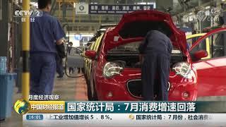 [中国财经报道]月度经济观察 国家统计局:7月国民经济运行保持在合理区间| CCTV财经