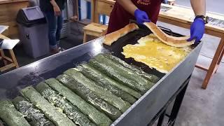 PULUHAN JUTA OMSETNYA SEMALAM ROTI BAKAR MODEL BARU   ROTI JOHN   INDONESIAN STREET FOOD