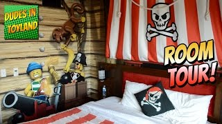 legoland hotel california lego pirate room tour themed resort 2016 san diego carlsbad ca