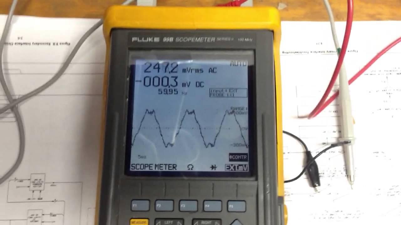 fluke 99b probe calibration youtube rh youtube com 199C ScopeMeter Fluke 196 ScopeMeter