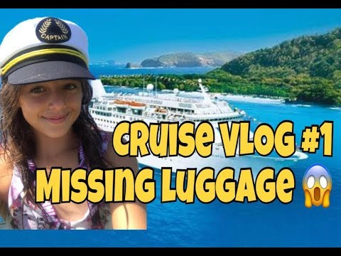 Cruise VLOG # 1 - MISSING LUGGAGE - life aboard P and O Pacific Dawn Cruise Ship 🚢