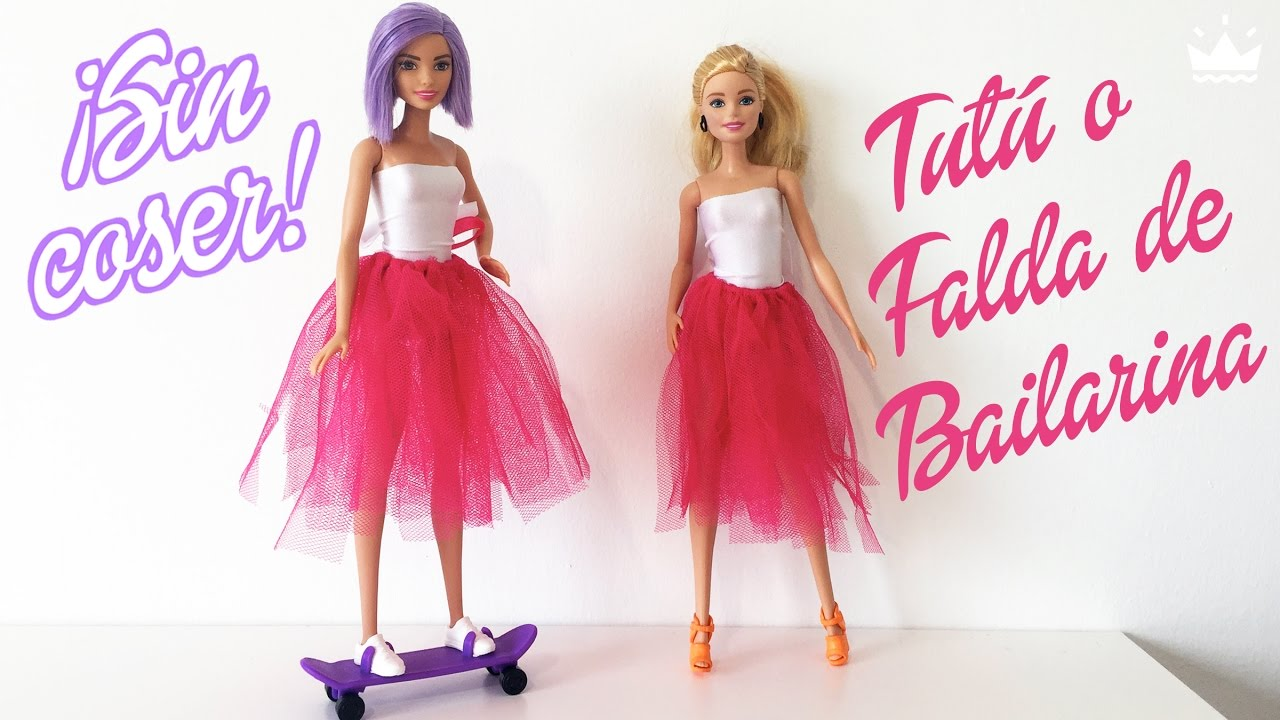 Vestido para barbie de elasticos