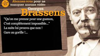 Georges Brassens - Le gorille - Paroles ( karaoké)